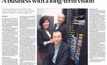 Xin Networks featured in The Straits Times Special